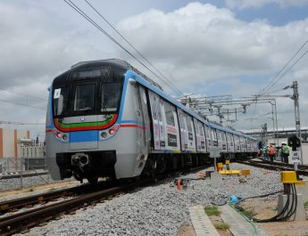 PM Narendra Modi today launched the metro rail, takes first ride!